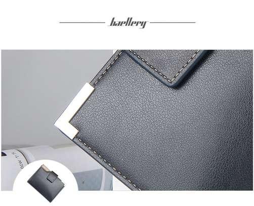 Black Leather Wallet-Baellerry image 3