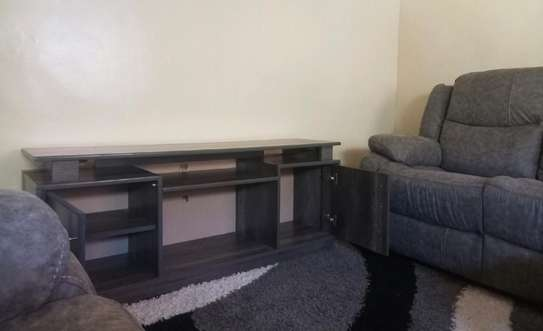 Original wood TV stand with fine finish