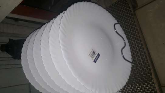 6pc luminarc dinner plates