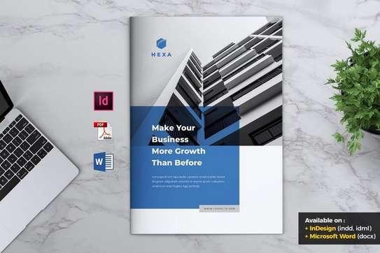 Professional Business Profile Design image 1