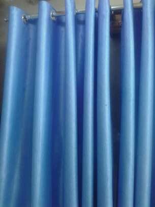 Plain blackout curtains image 1