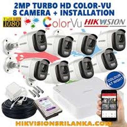 8 Dark Fighter ColorVu CCTV complete package + INSTALLATION image 6