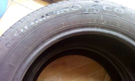 Two 205/60 R 16 92H GT Radial Tubless Tyres....Champiro Tyres image 4