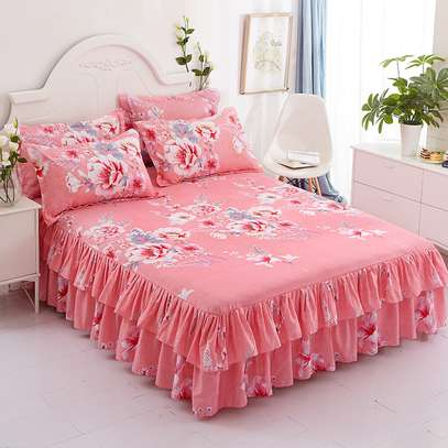 BED SKIRTS ELEGANT FOR YOUR ROOM ESTACE image 2