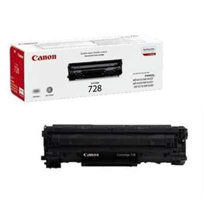 canon 728 toner cartridge black refilled only image 1