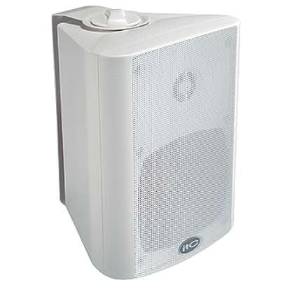 ITC T-775 5 Inch Two Way 30W Wall Mount Speaker (WHITE OR BLACK) image 2