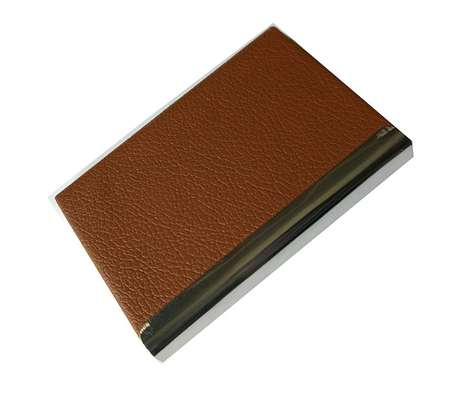 Classic brown cardholder