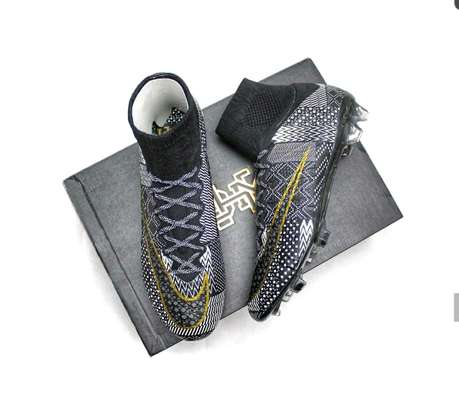 Black History Month Limited Edition NIKE Mercurial Superfly 4 Football Cleats image 2