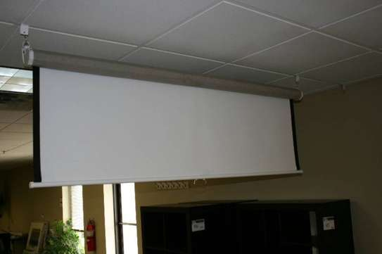 Electric Projection screen 120*160