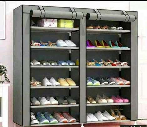 Executive Portable Quality Shoe Rack image 1