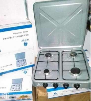 4 Burner Nunix Gas Cooker. image 1