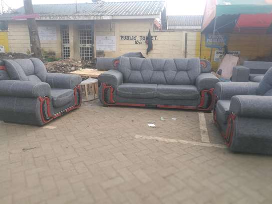 Ready Made Beautiful Contemporary Quality 5 Seater Sofa image 1