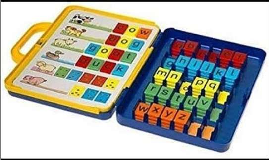 Spell time board game