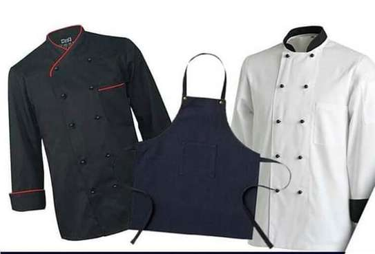We make, brand and supply chef uniforms
