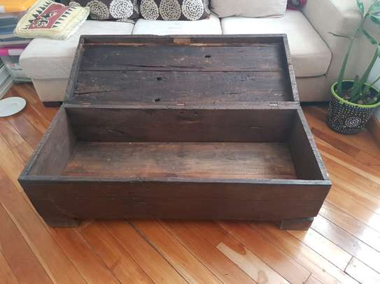 Wooden Chest/Trunk in Vintage Style