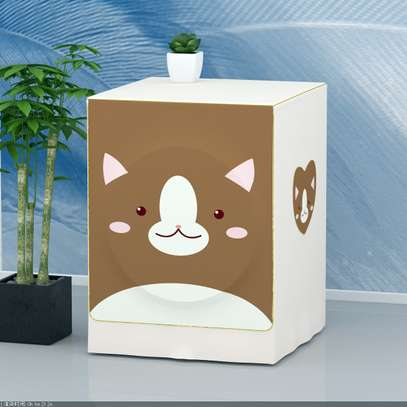 Front Load washing machine cover bear image 3