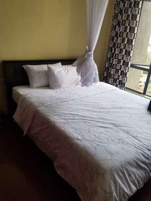 Dr. Mattress and Black Solid Bed frame