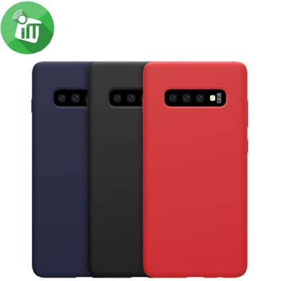 Silicone case with Soft Touch for Samsung S10 S10e S10 Plus image 3