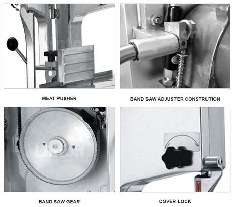 Electric Bone Saw Machine - Commercial Electric Meat image 1