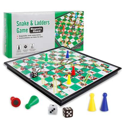 Snakes and ladders 2 in 1 image 1