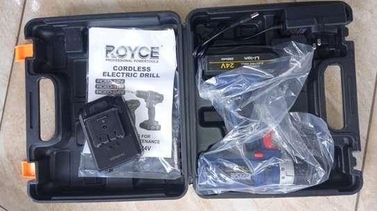 24voltage Royce corddress drill image 1