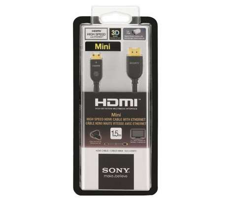 Sony High Speed HDMI Male To HDMI Male Cable-1.5M image 1