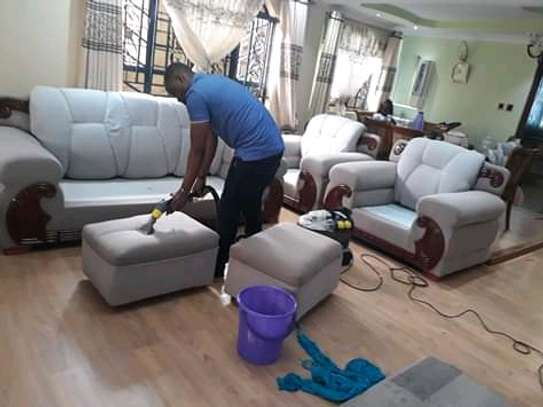Sofaset cleaning
