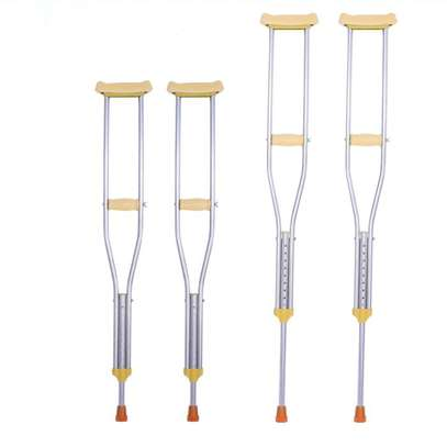 Under Arm Crutches one pair (2 pcs) image 1