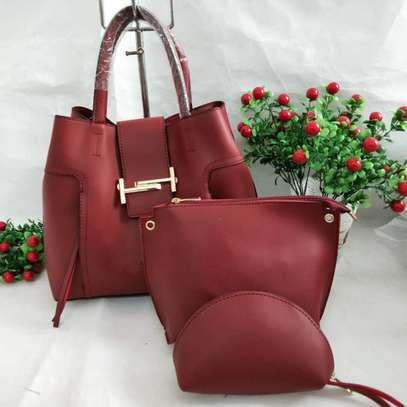 3 in 1 Leather Handbags image 4