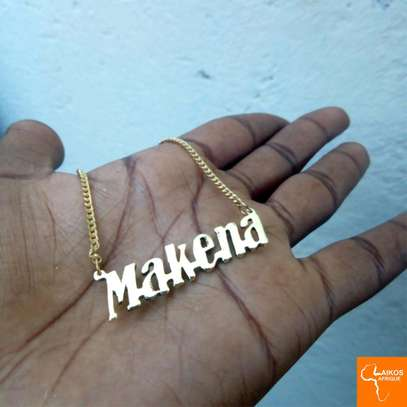 Customized Brass necklace