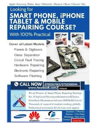 Advanced Smartphones Repair Training image 1