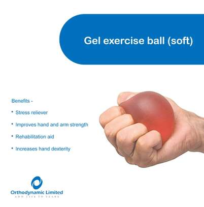 Gel exercise ball image 1