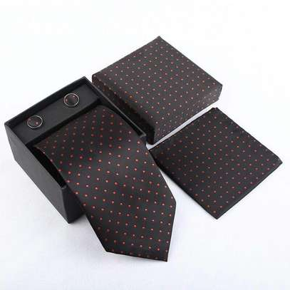 Tie, Cufflinks and Pocket Square