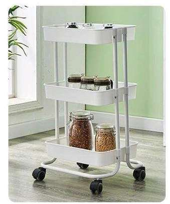 *QUALITY 3tier  movable Trolley image 2
