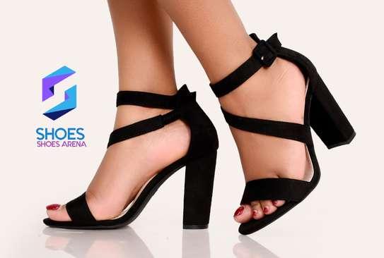 Classy chunky heels image 5