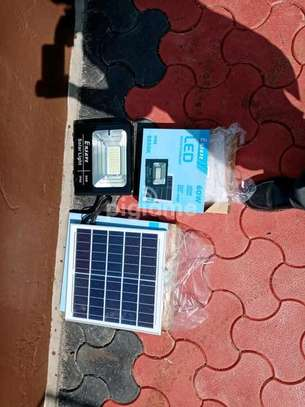 Solar floodlight 60w ensave image 1