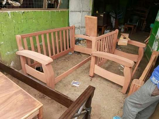 Open sofas(Solid mahogany) image 2