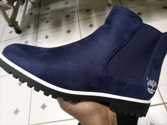 Navy blue boots image 1