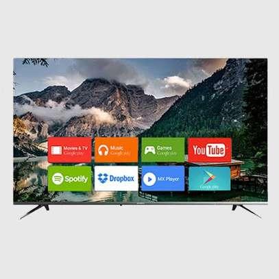 New 50 inches EEFA Android Smart Frameless UHD-4K Digital TVs image 1