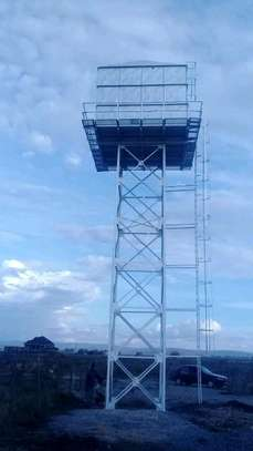 100,000l Steel Water Tank on 16m Water Tower image 3