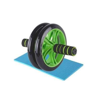 AB Wheel Abs Roller Workout Arm And Waist Fitness Exerciser Wheel (Free Knee Mat)