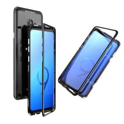 Magnetic Luxury Absorption Cases For Samsung S9 S9 Plus image 1