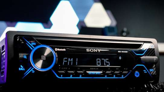 Sony MEX-N4200BT FM Radio receiver, Bluetooth, CD  player, USB, AUX In