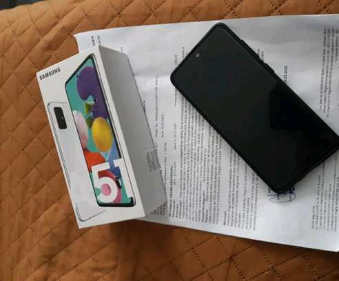 Samsung Galaxy A51 | 128 Gigabytes | Duos In Mint Condition image 2