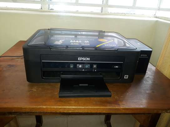 Epson L382 Multifunction Colour Ink Tank System 3-In-1 Printer