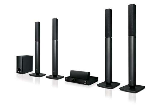 LG LHD457 Home Theatre - 5.1 Channel, 330W, Tall Boy, Bluetooth image 1
