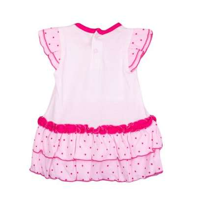 2pc girl set(frock and pink panty) image 2