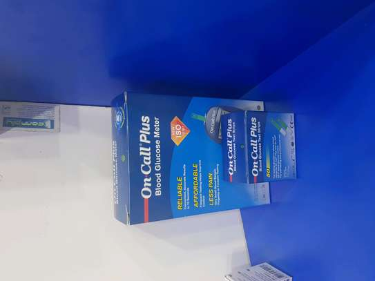 Oncall glucometer plus strips