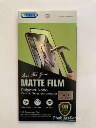 Samsung Galaxy A51 Matte Ceramic film screen Guard image 3