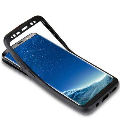 360 full protective cover tpu soft rubber phone case for Samsung Galaxy Note 8 image 1